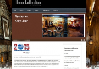 Vail Menu Collection